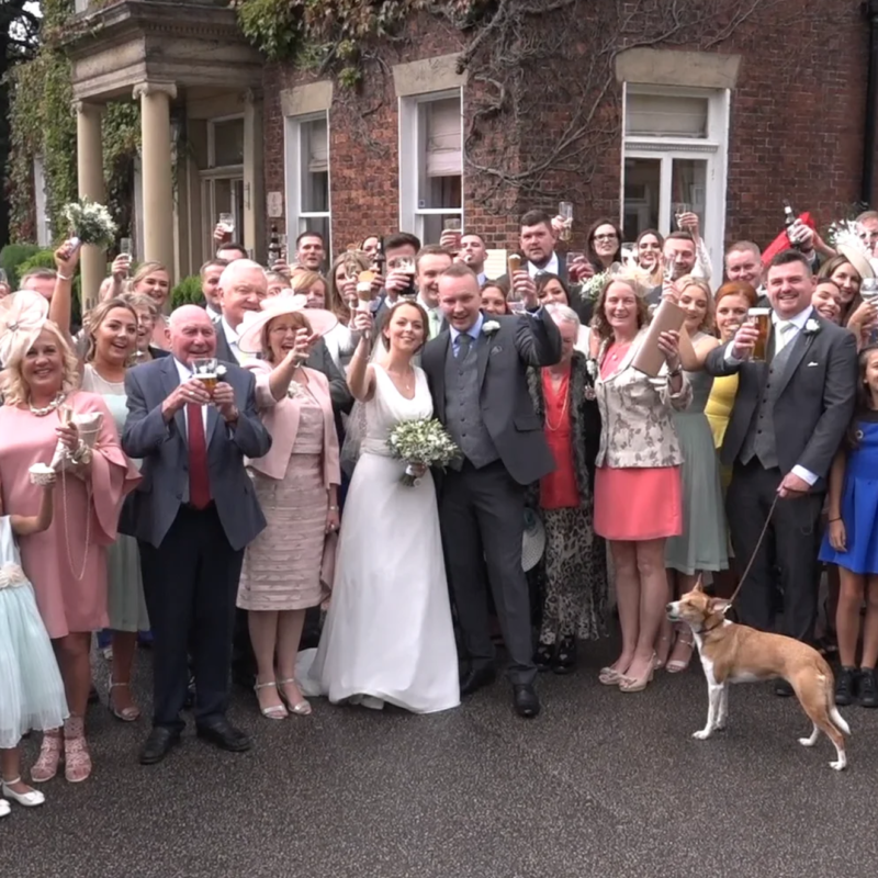 Wedding Videographer Bury, Manchester, Ian Newton